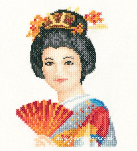 Suko Miniature Evenweave Cross Stitch Kit